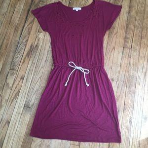 Dresses & Skirts - Burgundy LOFT Slip Dress